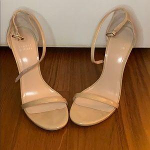 Stuart Weitzman Sabbia Aniline Stiletto Heels